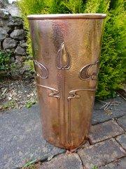 Arts & Crafts Newlyn school stick stand