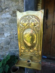 Arts & Crafts Scottish School Candle Sconce