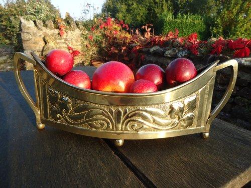 Arts & Crafts Scottish School brass Jardiniere