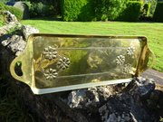 Arts & Crafts Scottish school brass tray