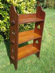 Arts & Crafts Sedley bookshelves for Liberty