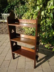 Arts & Crafts Sedley oak bookcase for Liberty