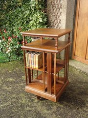 Arts & Crafts Shapland & Petter revolving bookcase