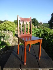 Arts & Crafts Shapland & Petter Hall chair