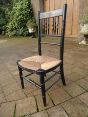 Arts & Crafts Sussex style child's chair