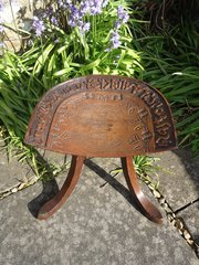Arts & Crafts Thebes stool for Liberty & Co