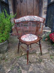 Arts & Crafts William Birch chair for Liberty