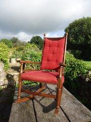 Arts & Crafts William Birch rocking chair