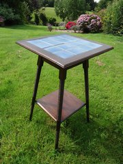 Arts & Crafts William Birch tiled top table