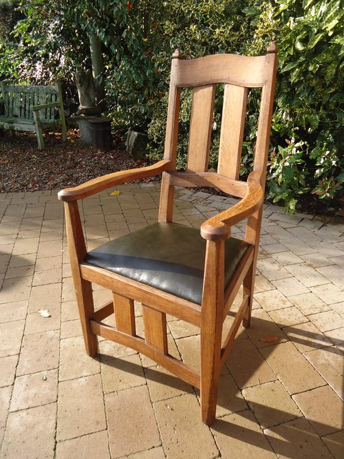 Arts & Crafts William Lethaby Armchair