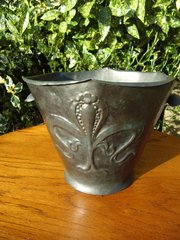 Arts & Crafts William Soutter pewter jardiniere