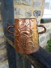 Arts & Crafts Yattendon copper vase