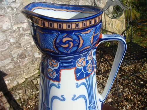 Arts & Crafts  Royal Doulton Aubrey Jug