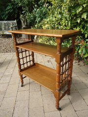 Arts & Crafts book table - Wyburd for Liberty