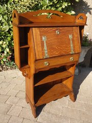 Arts & Crafts bureau bookcase for Liberty