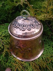 Arts & Crafts copper Tobacco jar