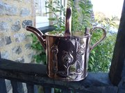 Arts & Crafts copper watering can. Sankey