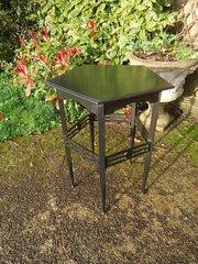 Arts & Crafts ebonised side table