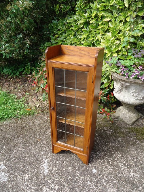 Arts & Crafts glazed bookcase for Liberty