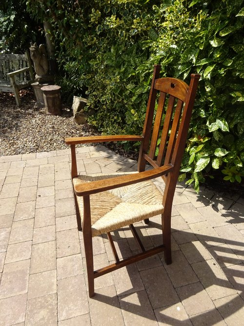 Arts & Crafts oak Armchair for Liberty