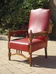 Arts & Crafts oak arm chair for Liberty