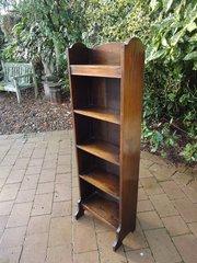 Arts & Crafts oak bookcase. Heals