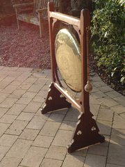 Arts & Crafts oak gong - Liberty