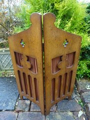 Arts & Crafts oak screen - Liberty