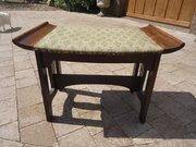 Arts & Crafts oak stool for Liberty