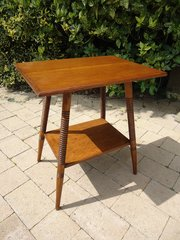 Arts & Crafts oak table - Goodyers