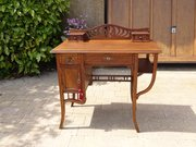 Arts & Crafts oak writing desk