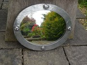 Arts & Crafts pewter mirror for Liberty