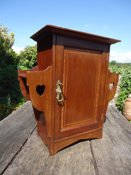 Arts & Crafts wall cupboard. Shapland & Petter