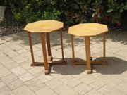 Complementing pair of Arts & Crafts tables