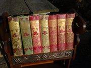 Delightful set of seven Arts & Crafts books