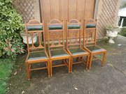 Fine set of 4 Shapland & Petter dining chairs