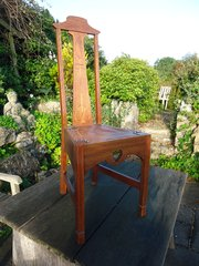 Glasgow school oak chair - John Ednie