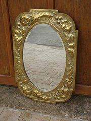 Gorgeous Arts & Crafts Scottish school mirror