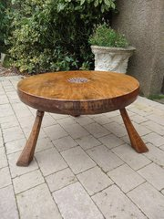 Jack Grimble of Cromer Burr Elm coffee table