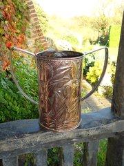 Large Arts & Crafts copper vase. Keswick