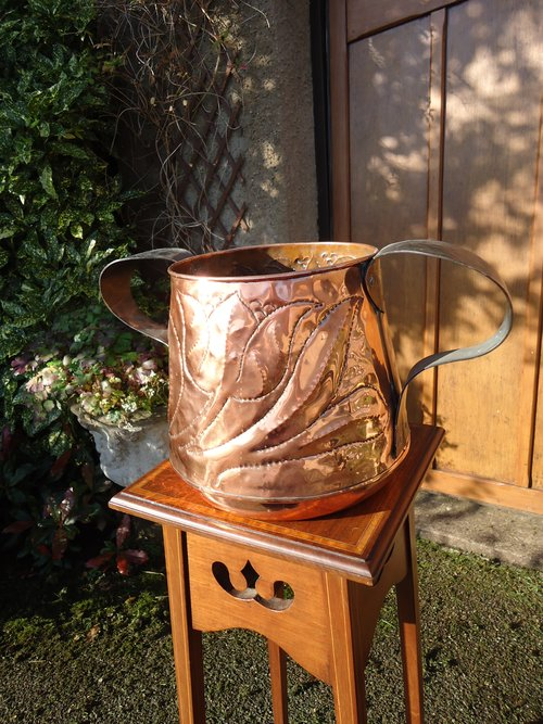 Large Arts & Crafts two handled Jardiniere