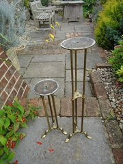 Pair of Finlay of London Milliners stands