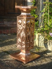 Rare & Stunning Copper Arts & Crafts plant stand