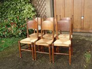 Set 0f 6 matched William Birch Dining chairs