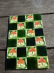 Set of Six Arts  & Crafts tiles