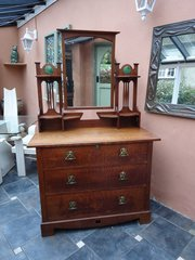 Shapland & Petter Arts & Crafts dressing chest
