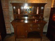 Small Arts & Crafts oak sideboard