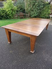 Superb 10 foot Arts & Crafts  dining table