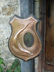 Unusual Newlyn school Arts & Crafts photo frame