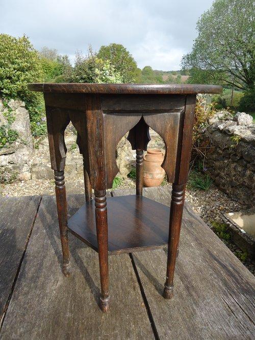 Unusually small Moorish table for Liberty